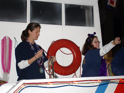 The U.S. Coast Guard at Mardi Gras - New Orleans, LA ... February 27, 2006 ... Photo by Rob Page III