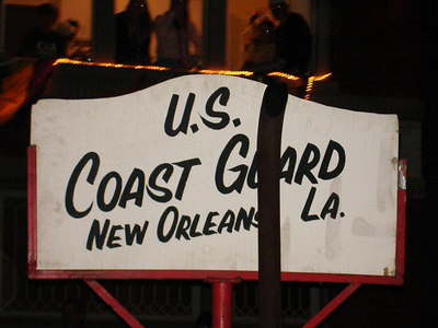 Even the Coast Guard parties it up at Mardi Gras - New Orleans, LA ... February 27, 2006 ... Photo by Rob Page III