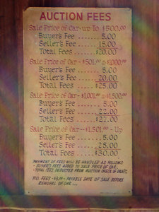 Old Car prices at Oak Alley Plantation - Vacherie, LA ... February 27, 2006 ... Photo by Rob Page III