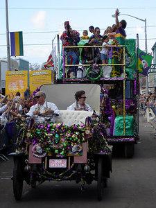 Mardi Gras in the country! - Eunice, LA ... February 28, 2006