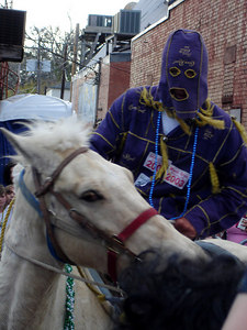 Mardi Gras in the country! - Eunice, LA ... February 28, 2006
