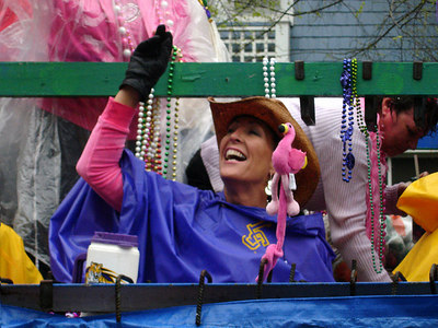 The Spanish Town Mardi Gras Parade - Baton Rouge, LA ... February 25, 2006 ... Photo by Rob Page III