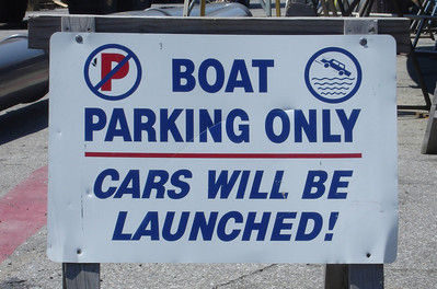 Don't park here - Annapolis, MD ... June 17, 2005 ... Photo by Rob Page III