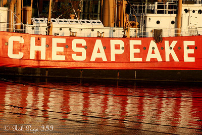 The Chesapeake, a floating lighthouse - Baltimore, MD ... October 12, 2009 ... Photo by Rob Page III