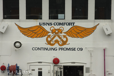 The USNS Comfort - Baltimore, MD ... August 6, 2009 ... Photo by Rob Page III