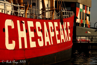 The Chesapeake Lighthouse and USS Torsk - Baltimore, MD ... October 12, 2009 ... Photo by Rob Page III
