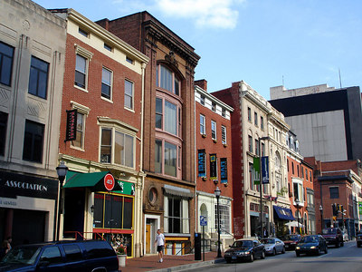Historic St. Charles St. - Baltimore, MD ... June 6, 2006 ... Photo by Rob Page III