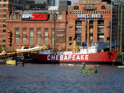 The Inner Harbor - Baltimore, MD ... June 6, 2006 ... Photo by Rob Page III