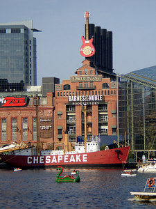 The inner harbour - Baltimore, MD ... June 6, 2006 ... Photo by Rob Page III