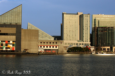 The Inner Harbour - Baltimore, MD ... October 12, 2009 ... Photo by Rob Page III