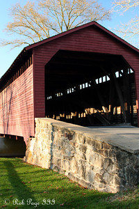 Utica covered bridge - Frederick, MD ... November 7, 2009 ... Photo by Rob Page III