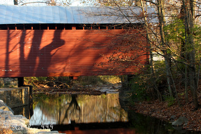 The Roddy Road Covered Bridge - Frederick, MD ... November 7, 2009 ... Photo by Rob Page III