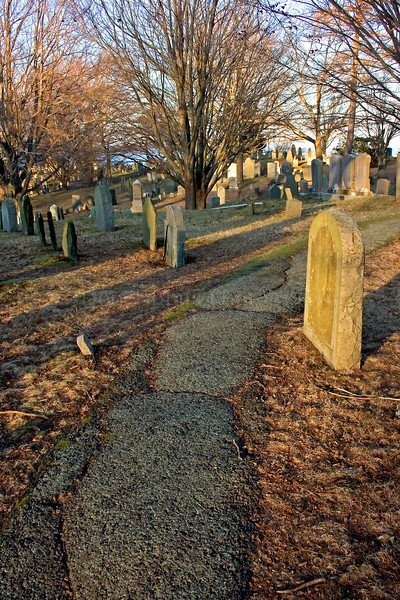 Burial Hill. Plymouth, Massachusetts.