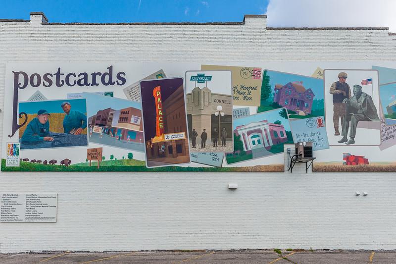 Luverne Minnesota Mural, 2008.