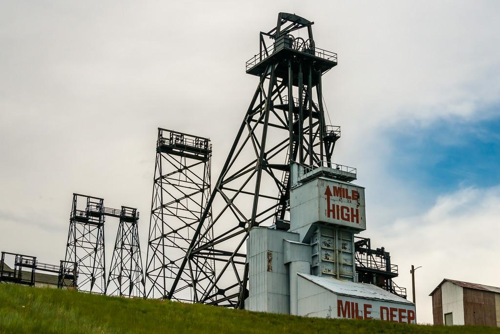 Mile High, Mile Deep, Butte MT