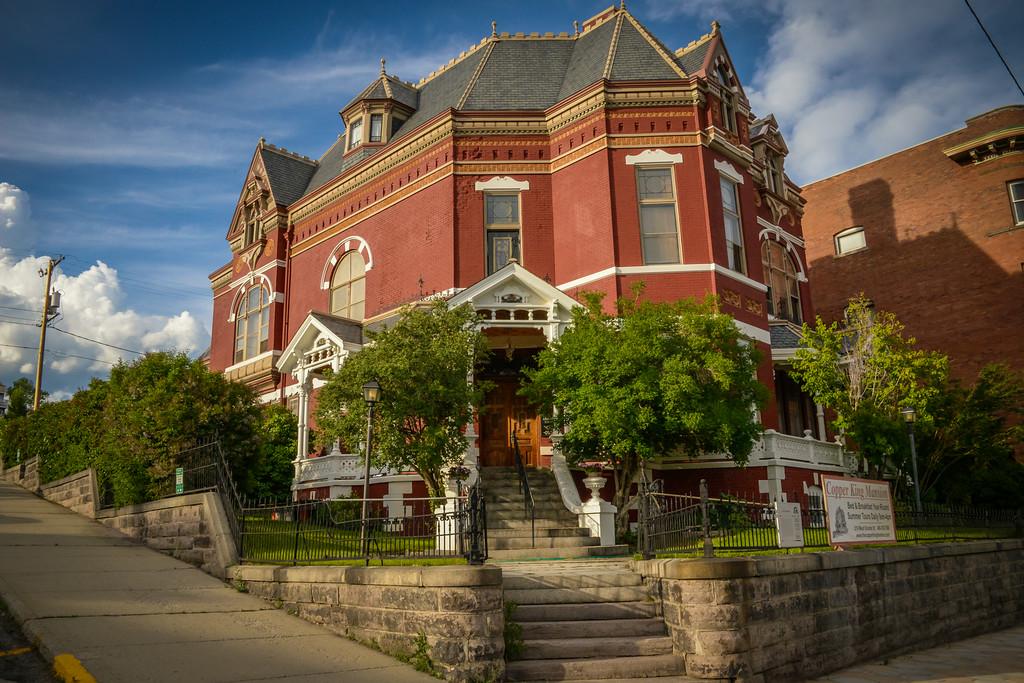 Copper King Mansion W.A Clark - Circa 1884-88