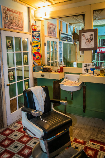 Hirbour Barber Shop Museum, Butte MT