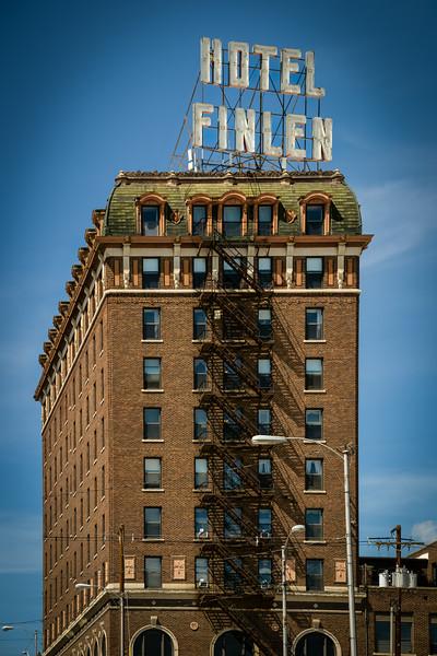 Finlen Hotel - Circa 1924