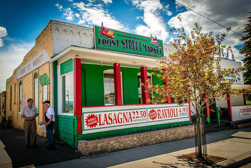 Front Steet Market, Butte MT