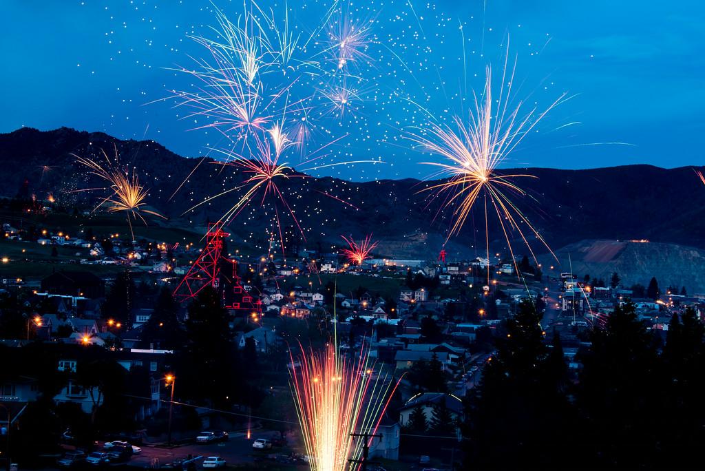 Fourth of July Fireworks begin