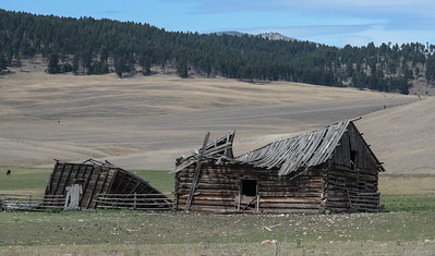 Abandoned Farm Buildings, Montana