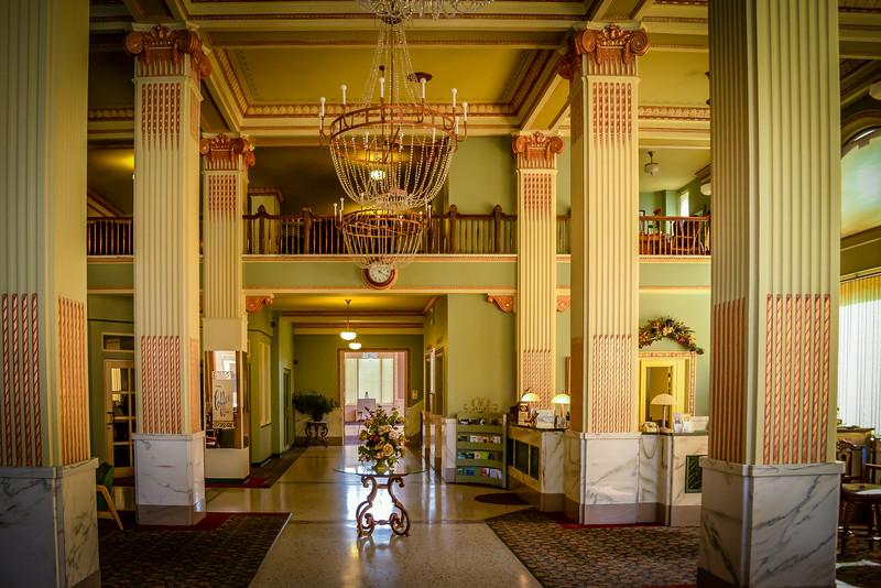 Lobby of Finlen Hotel