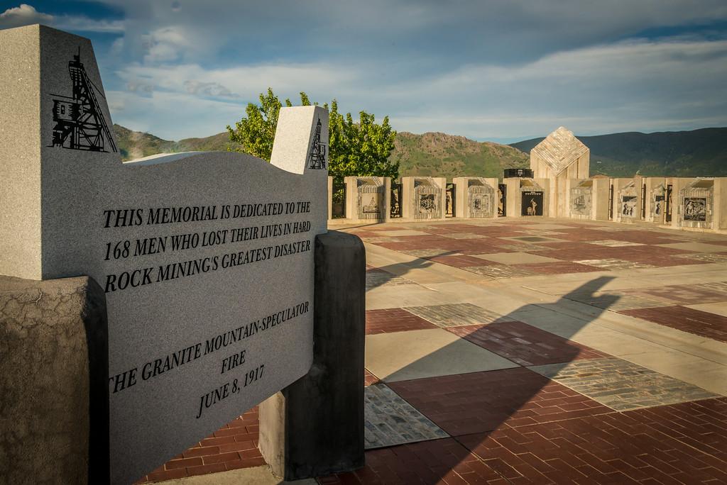 Granite Mountain Fire 1917 Memorial