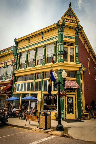 Sayrs Building - Circa 1888