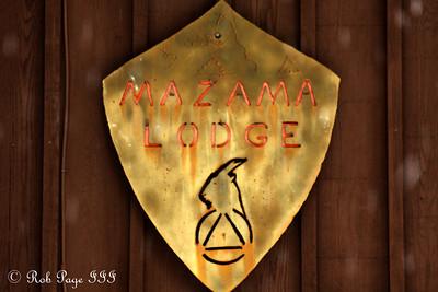 The Mazama Lodge - Mt. Hood, OR ... May 4, 2012 ... Photo by Rob Page III