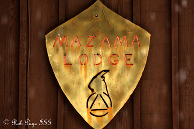 The Mazama Lodge - Mt. Hood, OR ... May 4, 2012 ... Photo by Rob Page III