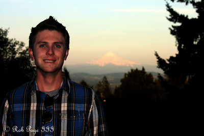 Peter and Mt. Hood - Portland, OR ... May 6, 2012 ... Photo by Rob Page III