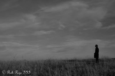 Emily on the prairie - Denton, NE ... November 27, 2010 ... Photo by Rob Page III
