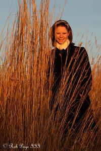 Emily enjoys the prairie - Denton, NE ... November 27, 2010 ... Photo by Rob Page III
