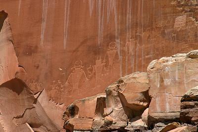Capitol Reef Petroglyphs, Utah (Panetta)