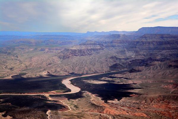 Colorado River entering the Grand Canyon