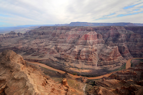 My first view of the Colorado River and Grand Canyon