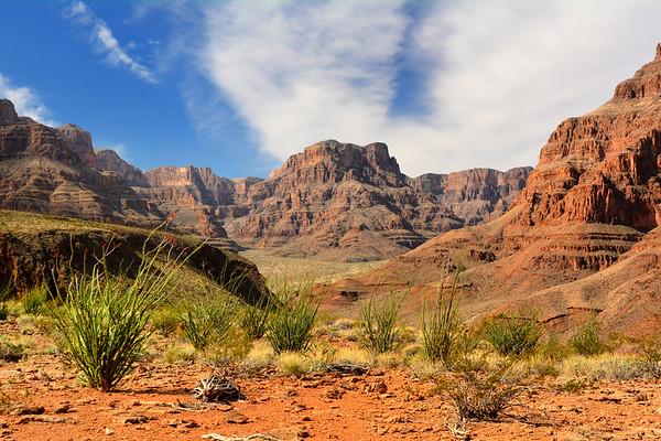Dry Canyon at landing spot