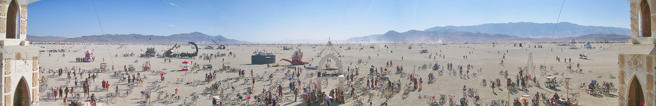 View from the Temple -- Burning Man 2011, Black Rock City, Nevada