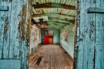 The Wood Caboose Interior