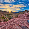 Sunset at Red Rock Canyon