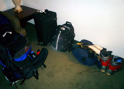Almost ready for the mountain - Manchester, New Hampshire ... February 11, 2005 ... Photo by Rob Page III