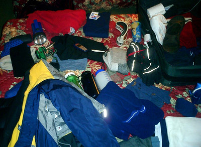 Pedro's stuff - Manchester, New Hampshire ... February 11, 2005 ... Photo by Rob Page III