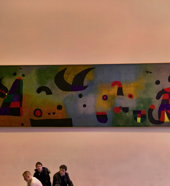 Miro's Wall, MOMA, 11 West 53rd, Manhattan