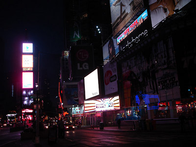 Times Square - New York, NY ... June 8, 2006 ... Photo by Rob Page III