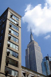 The Empire State Building - New York, NY ... July 9, 2006 ... Photo by Rob Page III