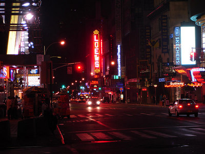 Times Square - New York, NY ... July 8, 2006 ... Photo by Rob Page III