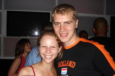 Emily and Rob at Tonic - New York, NY ... July 8, 2006 ... Photo by Dermot Maher