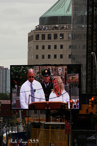 Victim's families speak on 9/11 - New York, NY ... September 11, 2011 ... Photo by Rob Page III