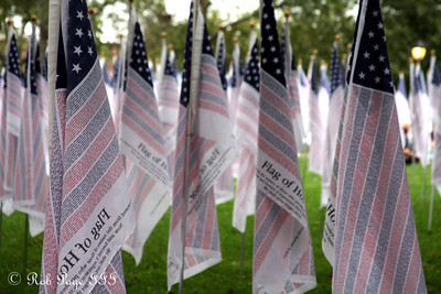 Flags of Honor - New York, NY ... September 11, 2011 ... Photo by Rob Page III