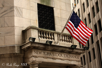 The New York Stock Exchange - New York, NY ... September 11, 2011 ... Photo by Rob Page III